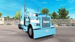 La piel de la Luz Azul-Blanco para el camión Pet