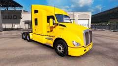 La Piel De Color Amarillo Inc. para Peterbilt y