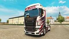 MT Diseño de la piel para Scania camión R700