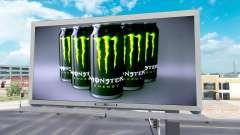 Monster Energy de publicidad en vallas publicita
