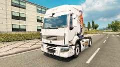 La piel Koi para tractor Renault