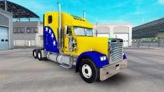 La piel Bosnia en el camión Freightliner Classic