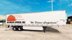 La piel Daybreak Express en el trailer