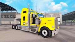 La piel tractor JCB Kenworth W900