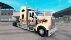 La piel de la India Espíritu en el camión Kenwor