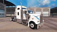 La piel de Walmart en el camión Kenworth W900