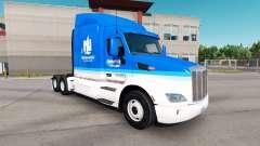 A nivel nacional la piel para el camión Peterbil