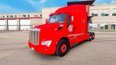 La piel Transco Líneas de camiones y Peterbilt K