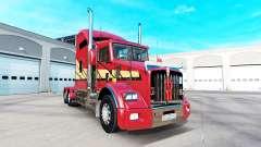 La piel Rayas v2.0 tractor Kenworth T800