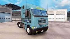 La piel Werner en el camión Freightliner Argosy
