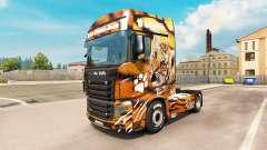 Piel de tigre para el camión Scania R700