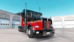 La piel Rayas v3.0 tractor Kenworth T800