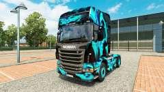 La piel de Humo Verde para Scania camión