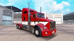 La piel Rayas v4.0 tractor Kenworth T800