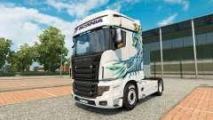Una colección de skins para Scania camión R700