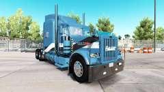 2Tone de la piel para el camión Peterbilt 389