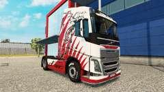 La piel del León de los camiones Volvo