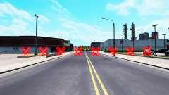 Rojo barreras