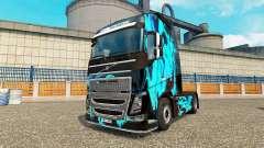 La piel de Humo Verde para camiones Volvo