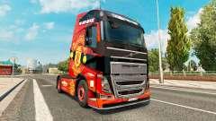 El Manchester United de la piel para camiones Vo