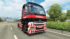 Mammoet de la piel para el camión Mercedes-Benz