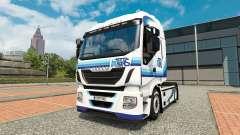 Ital trans de la piel para Iveco tractora