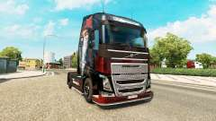 La piel de Metallica para Volvo trucks