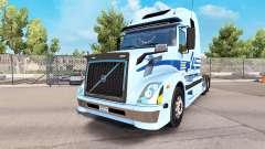 La piel de Werner Empresas tractor Volvo VNL 670