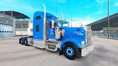La piel en Carlile Kenworth W900 tractor