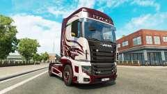 La fantasía de la piel para Scania camión R700