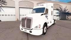 La piel en empresas Polar camión Kenworth