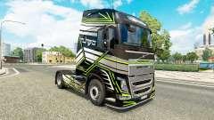 La piel Concepto de Imagen para camiones Volvo