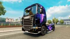 El Negro y el Morado de la piel para Scania cami