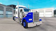 La piel de Pico Azul en el camión Kenworth W900