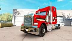 La piel Metálica del camión Freightliner Classic