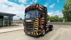 La llama de la piel para Scania camión