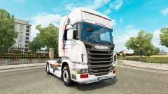Una piel de Superman para Scania camión