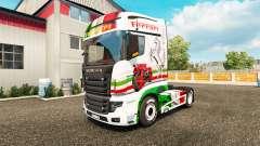 Ferrari piel para Scania camión R700