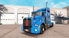 Carlile piel para Kenworth T800 camión