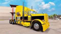 GATO de la piel para el camión Peterbilt 389