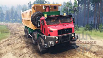 Oshkosh M1050 para Spin Tires