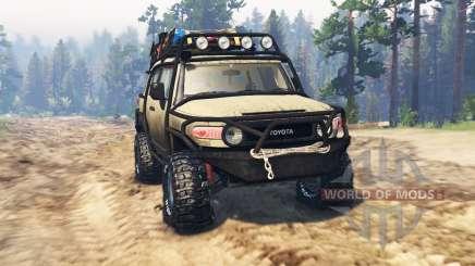 Toyota FJ Cruiser para Spin Tires