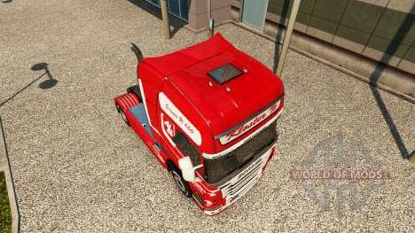 La piel Kloster en el tractor Scania para Euro Truck Simulator 2