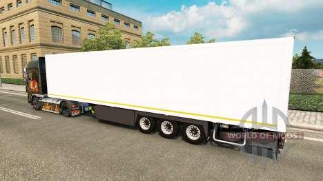 Semi-remolque SR2 la Futura SP para Euro Truck Simulator 2