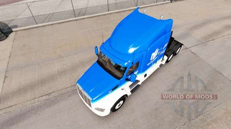 La piel Hendrick a nivel Nacional para el camión para American Truck Simulator