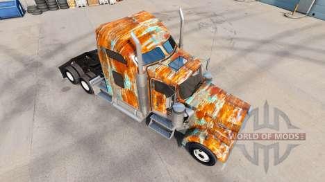 La piel de la Roya en el camión Kenworth W900 para American Truck Simulator
