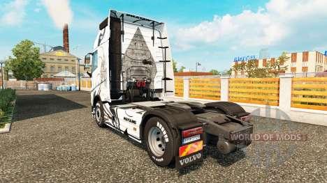 Wayang piel para camiones Volvo para Euro Truck Simulator 2