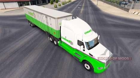 Chemso de la piel para el camión Peterbilt para American Truck Simulator