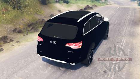 Audi Q7 v2.0 para Spin Tires