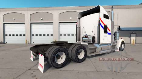 La piel de VIT Bicentenario del camión Kenworth  para American Truck Simulator